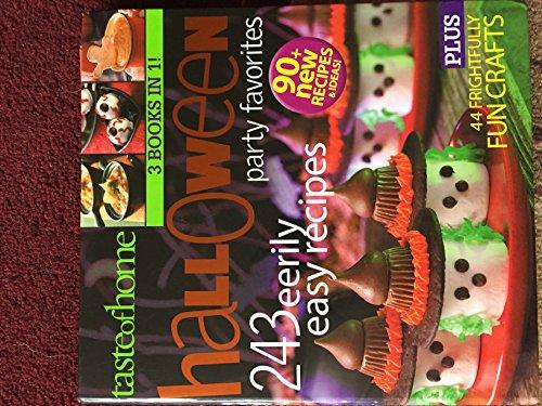 Taste of Home Halloween Party Favorites 243 Eerily Easy Recipes (Taste of Home, Readers Digest)