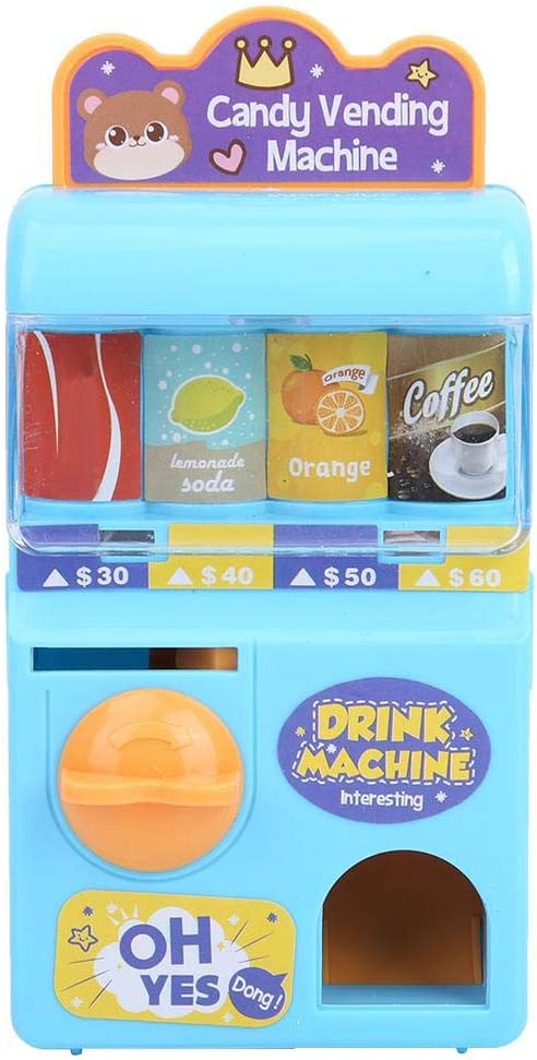 Juguetes de Máquina expendedora, mini máquina expendedora de juguetes Máquinas de bebidas electrónicas Educación infantil Juguetes de aprendizaje para niños niñas
