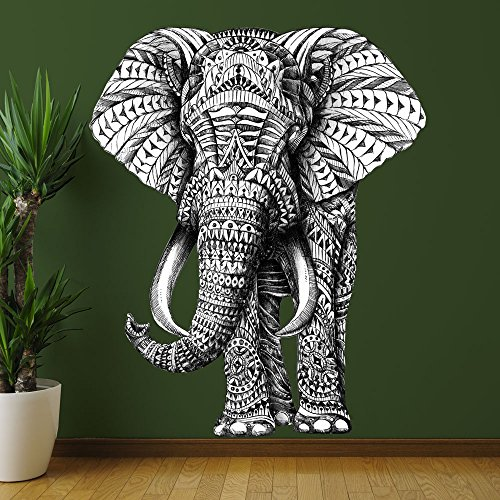 Wonderful Animal Elephant Sticker BioWorkZ