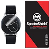 (6-PACK) Spectre Shield for Withings Activite Steel Screen Protector (Military-Grade) Flexible Full Coverage Invisible HD Clear Anti-Bubble Anti-Scratch Film