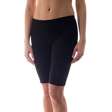 ad0361bcf79b Radlerhose Damen Sport Shorts Baumwolle Hotpants Kurze Leggings Bunte Farben