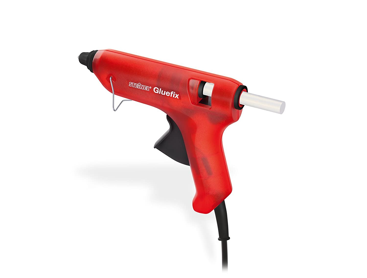 Steinel Gluefix Glue Gun, electronic temperature control, incl. 2 Cristal glue sticks 11 mm, warm-up time 7-8 min 333911