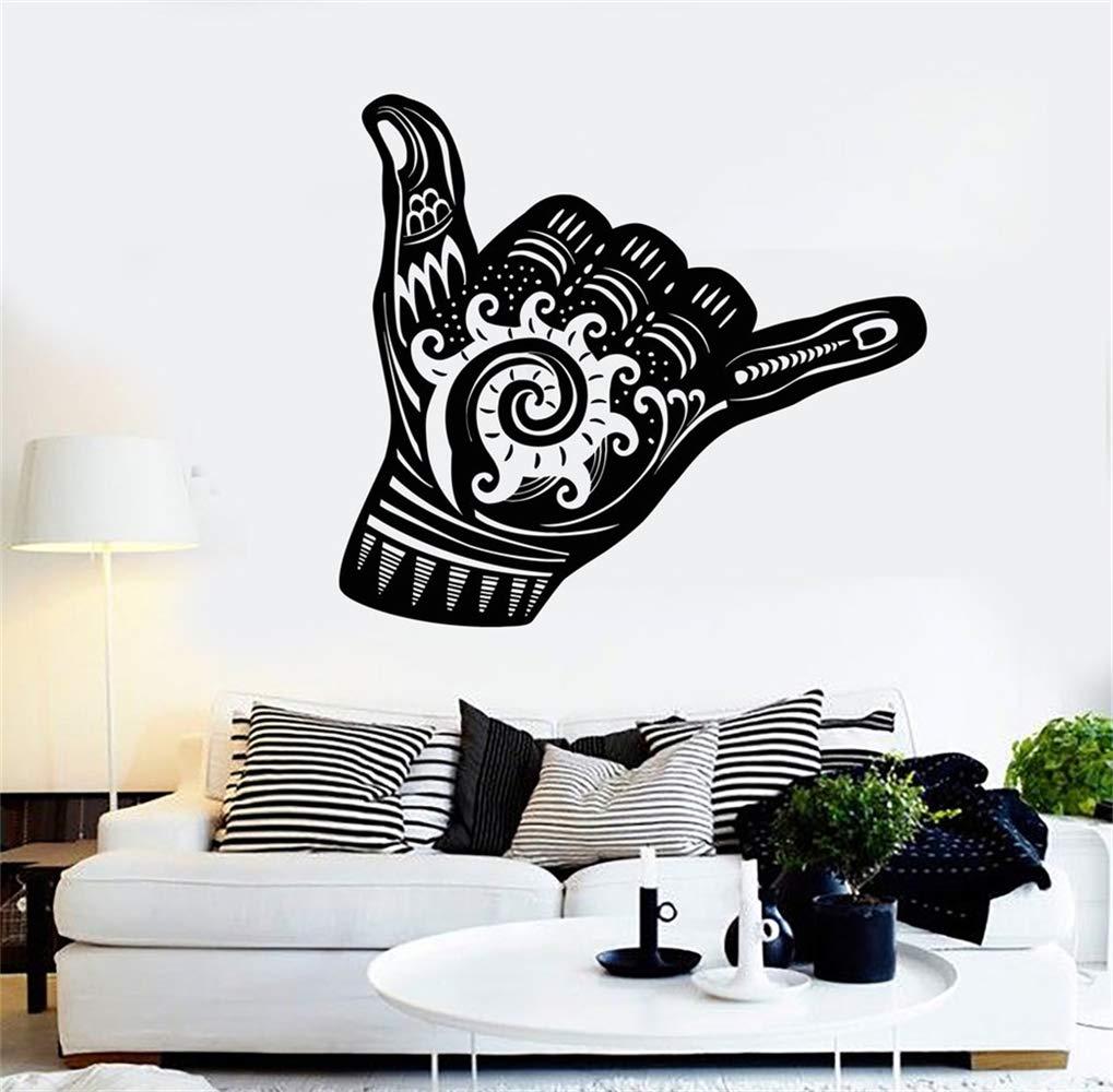 pegatinas de pared tortugas ninja Shaka Sign Hang Suelta ...