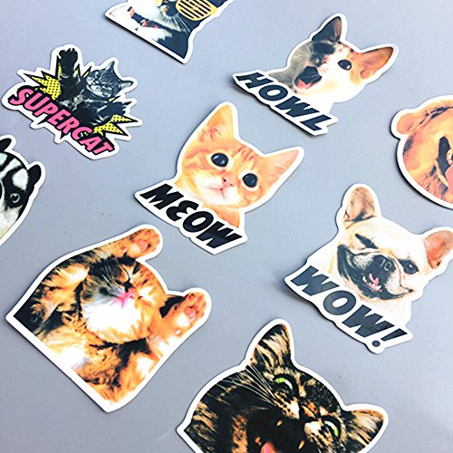 Merssyria Cool Decal Fort nite Stickers 46 pcs Waterproof Vinyl Stickers Car Sticker Gamer Birthday Party Supplies Gift 46 PCS