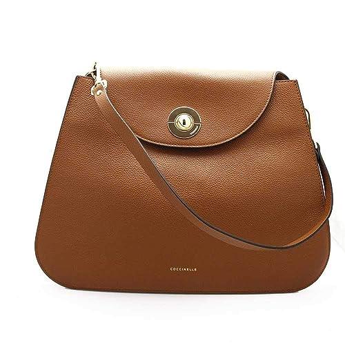 ca7596d04264 Coccinelle Jalouse Shoulder Bag brown  Amazon.co.uk  Clothing