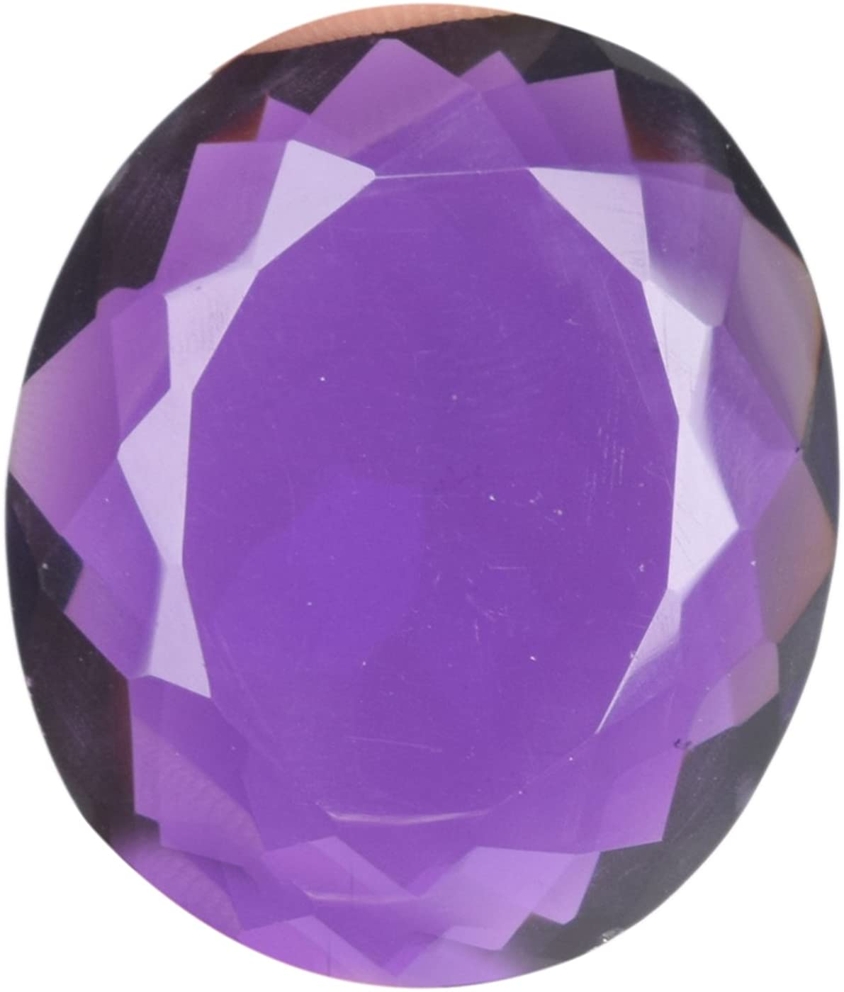 Gemhub Hermosa Amatista Violeta 76.95 CT Tamaño Colgante Violeta Amatista, Corte Ovalado Violeta Amatista Piedra Suelta BM-463