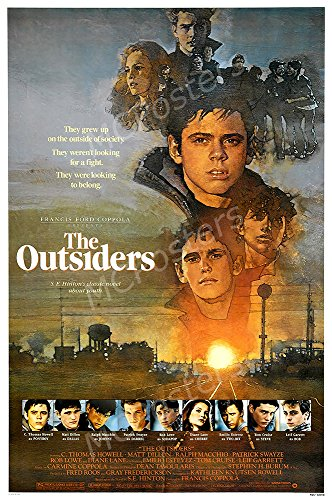 MCPosters The Outsiders GLOSSY FINISH Movie Poster - MCP249 (24
