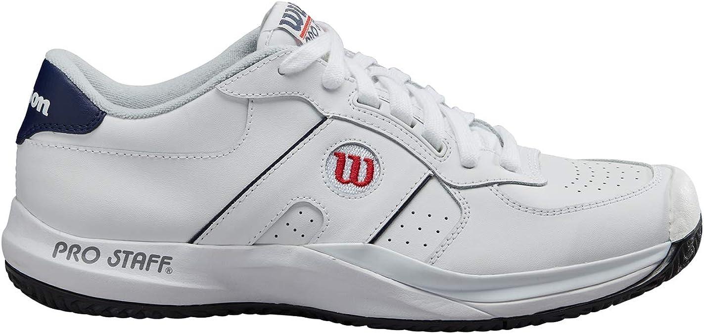 Wilson Pro Staff 2020, Zapatilla de Tenis para Todo Tipo de Terreno, tenistas de Cualquier Nivel para Hombre: Amazon.es: Zapatos y complementos