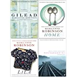 Marilynne Robinson Collection 4 Books Set (Gilead, Home, Lila, Housekeeping)