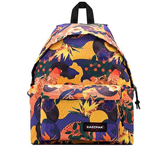 Eastpak Padded Pak'r Mochila Tipo Casual, Diseño Orange World, 24 Litros, Color Multicolor Orange World
