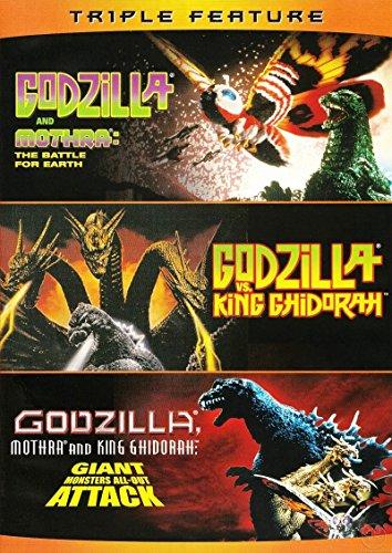 Godzilla Vs. King Ghidorah / Godzilla Vs. Mothra (1992) / Godzilla, Mothra, and King Ghidorah: Giant Monsters All-Out Attack - Set