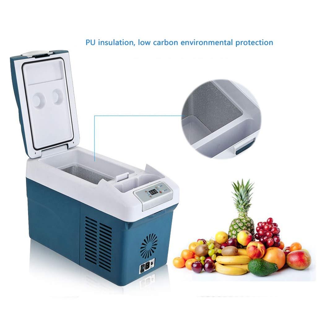 JCOCO Congelador portátil de 15 litros, refrigerador, 12 V / 24 V ...