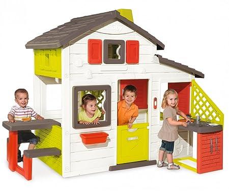Sommerküche Smoby : Smoby friends house spielhaus mit küche zubehör