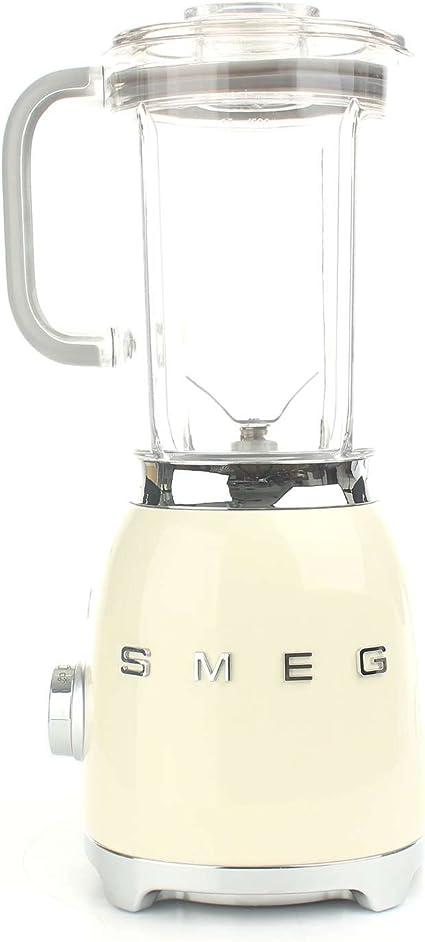 Smeg BLF01CREU - Batidora de vaso 16,3 x 19,7 x 39,7 cm, 1,5 ...