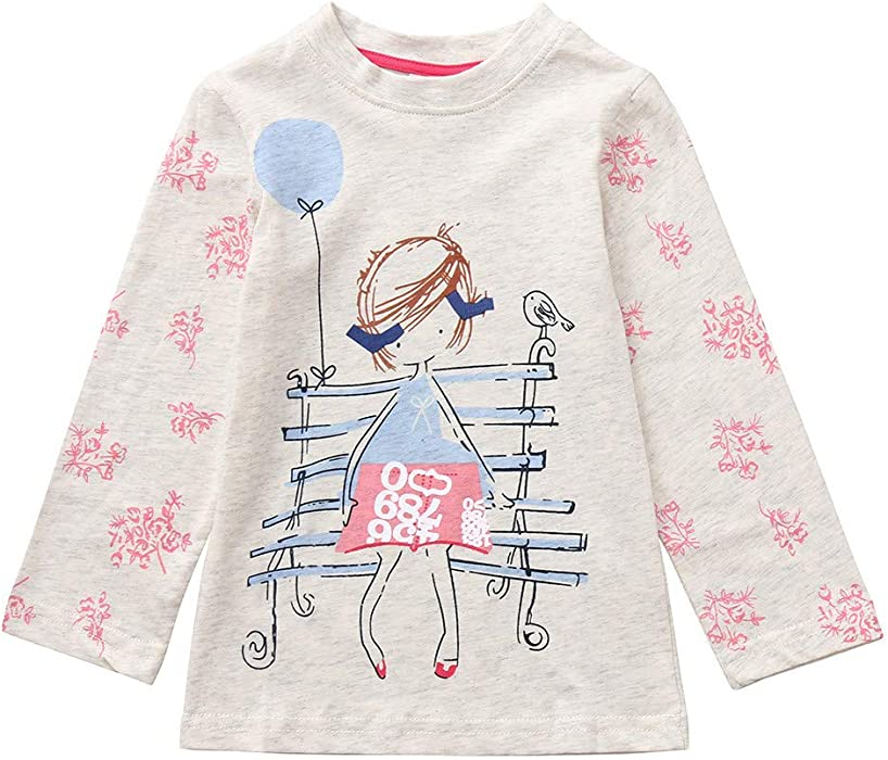 Amazon Com Baby Toddler Girls Fall Winter Clothes Blouse 1 6 Year
