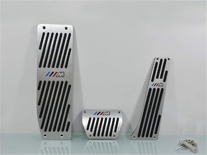 gloshop en pedal acelerador freno de embrague almohadilla freno Gas reposapiés para BMW M E90 E93