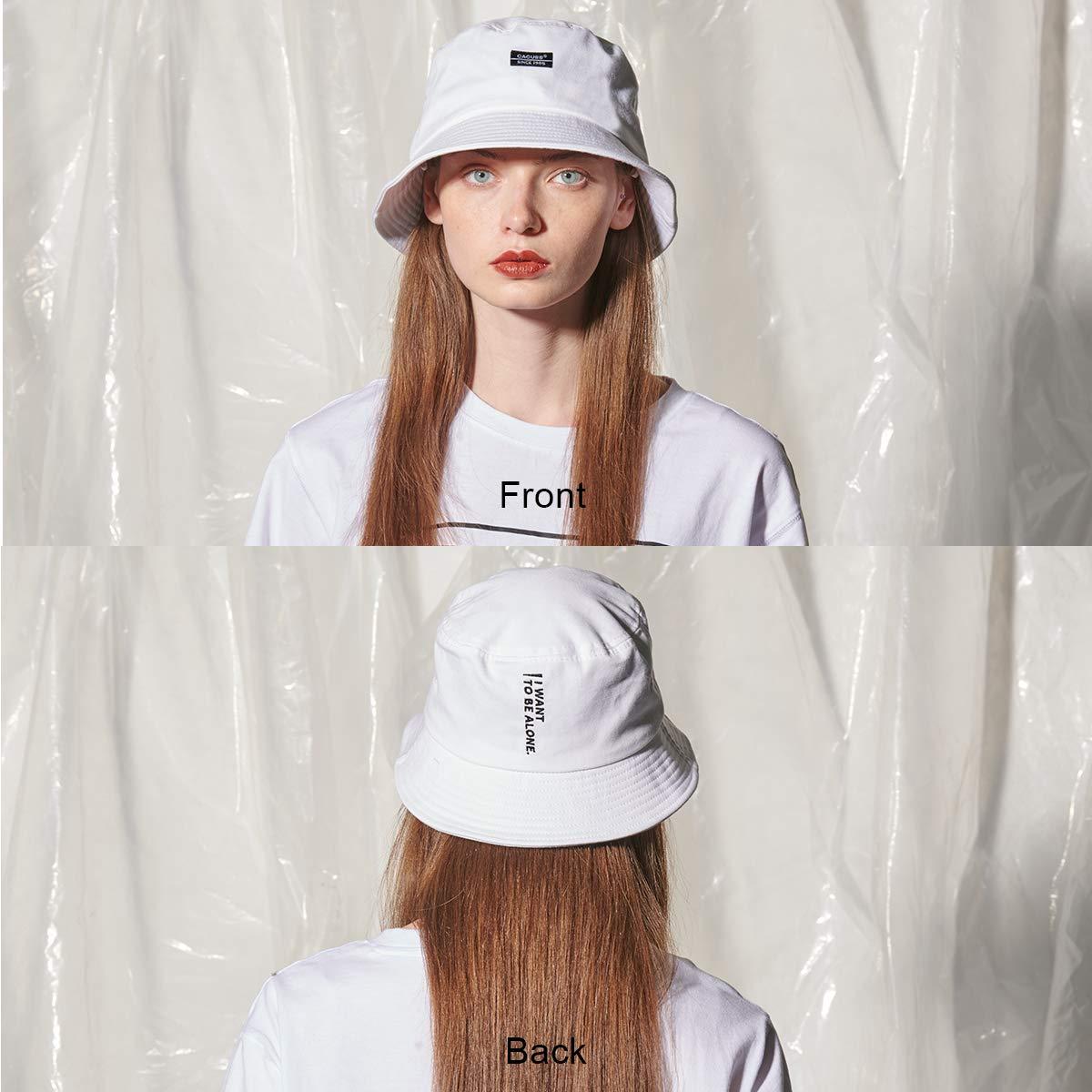 CACUSS Unisex Fischerhut Damen Hut modern Element faltbar f/ür Reisen M/ädchen Sonnenhut aus 100/% Baumwolle