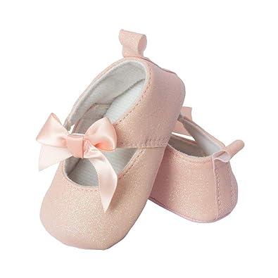 Amazon.com: Little Me Newborn/Infant/Toddler - Zapatos de ...