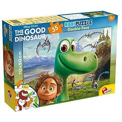 Lisciani Giochi 52820 Puzzle Df Supermaxi The Good Dinosaur 35 Pezzi Multicolore