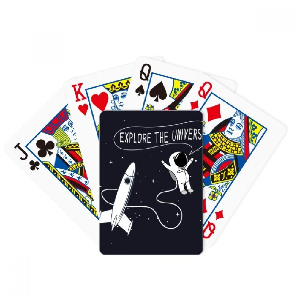 Universe And Alien Space Travel Poker Playing Card Tabletop Board Game Gift