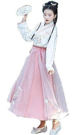 Susichou Hanfu - Vestido de Hada con Bordado en el Pecho, Estilo ...