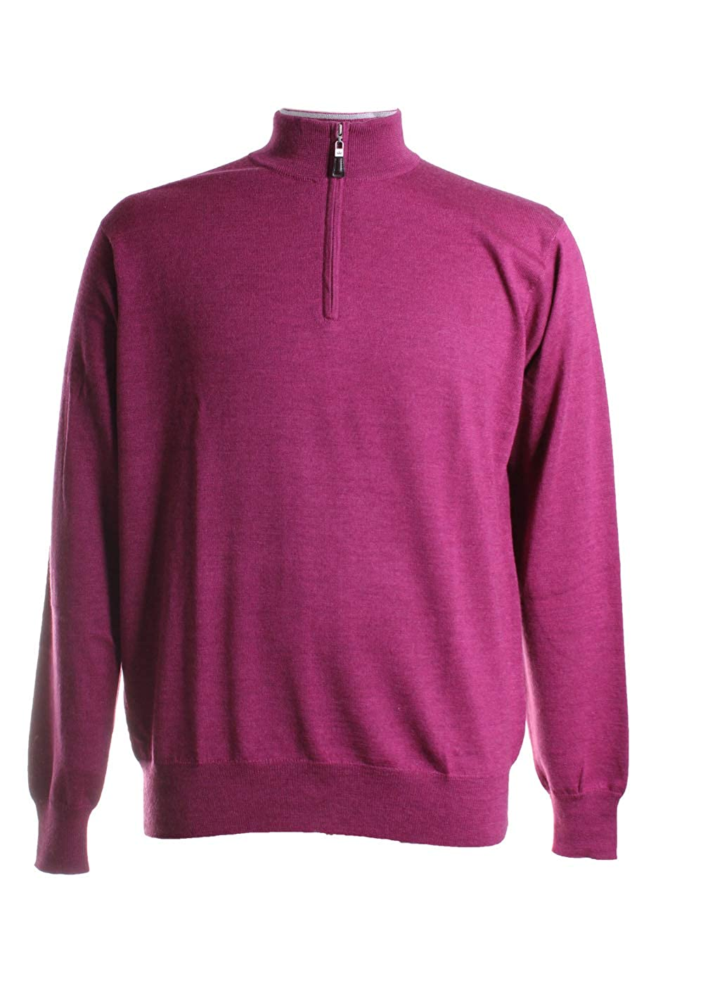 34a363b4c Amazon.com  PETER MILLAR Crown Soft 1 4 Zip (M) Winterberry  Clothing