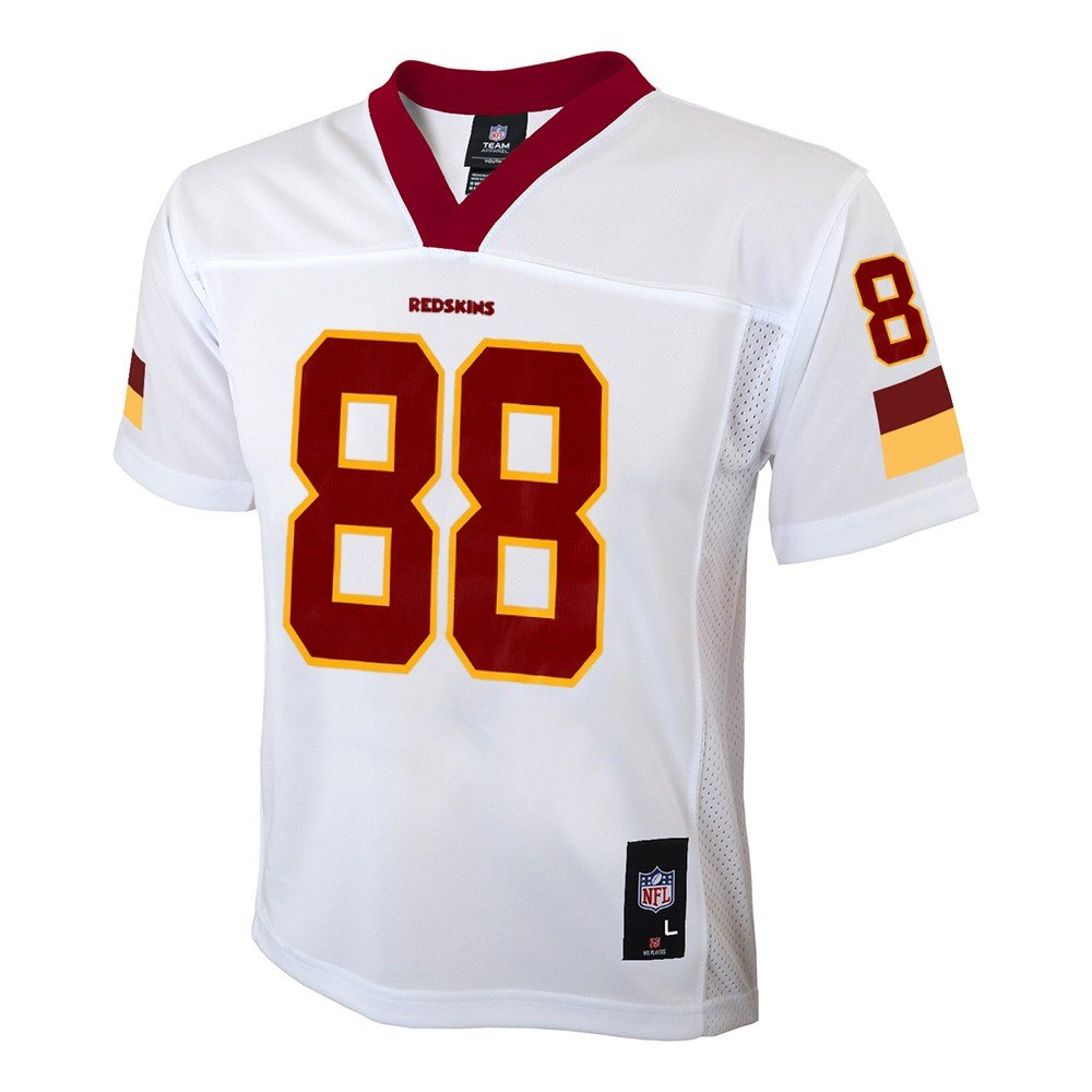 9f151b40d Amazon.com   Outerstuff Pierre Garcon NFL Chicago Bears Mid Tier Away White  Replica Jersey Youth (S-XL)   Sports   Outdoors