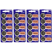 20pc SONY 2032 CR2032 3V Lithium Coin Battery (20 Batteries)