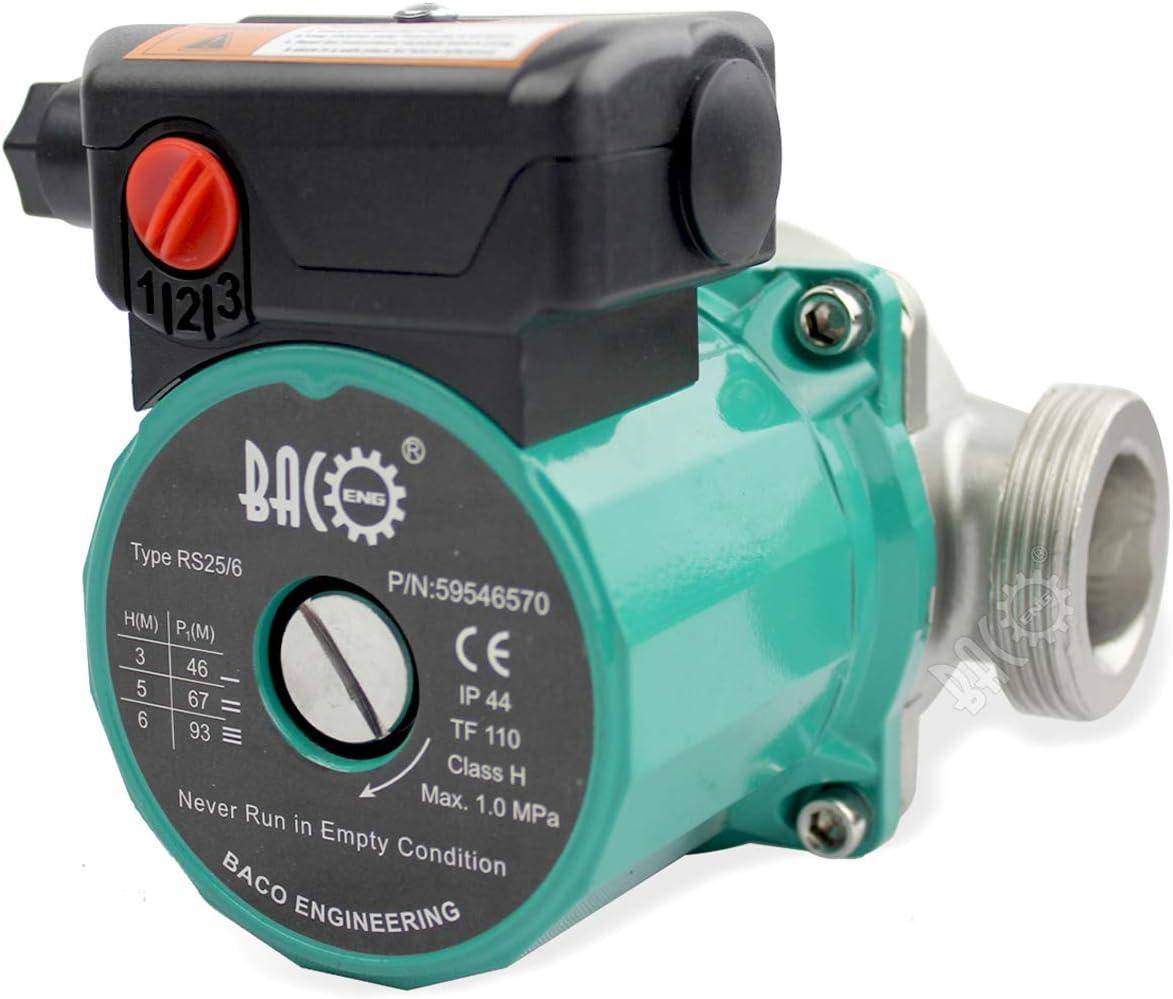 BACOENG 25//60-180 pour chauffage central pompe de recirculation