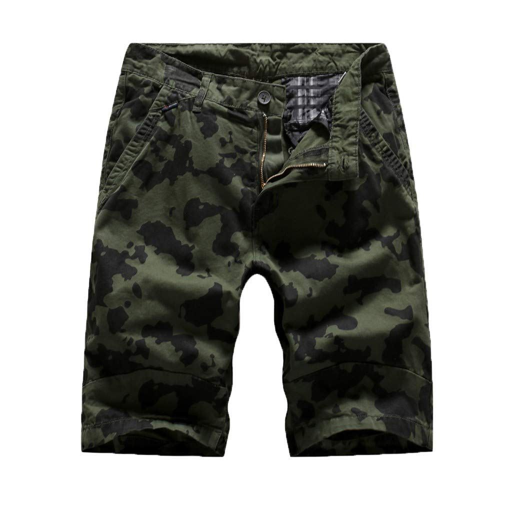 Men's Outdoor Lightweight Hiking Shorts Summer Comfortable Shorts Sports Casual Shorts for Clearence (30, Army Green)