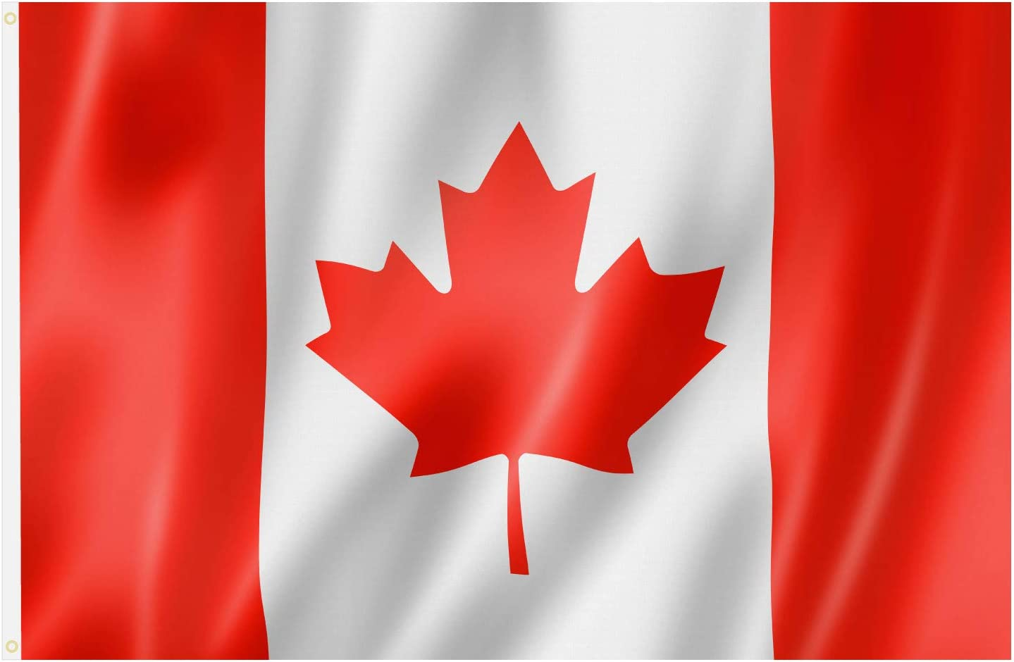Amazon.com: TRIXES Large Canadian Flag 5ft x 3ft Canada Flag: Home & Kitchen