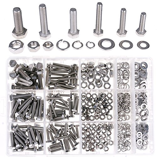 Hilitchi 510Pcs Stainless Washers Assortment product image
