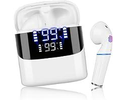 Audifonos Bluetooth Inalambricos, Sendowtek in-Ear Mini Audífonos Inalámbricos Bluetooth 5.0, Audífonos Bluetooth Deportivos
