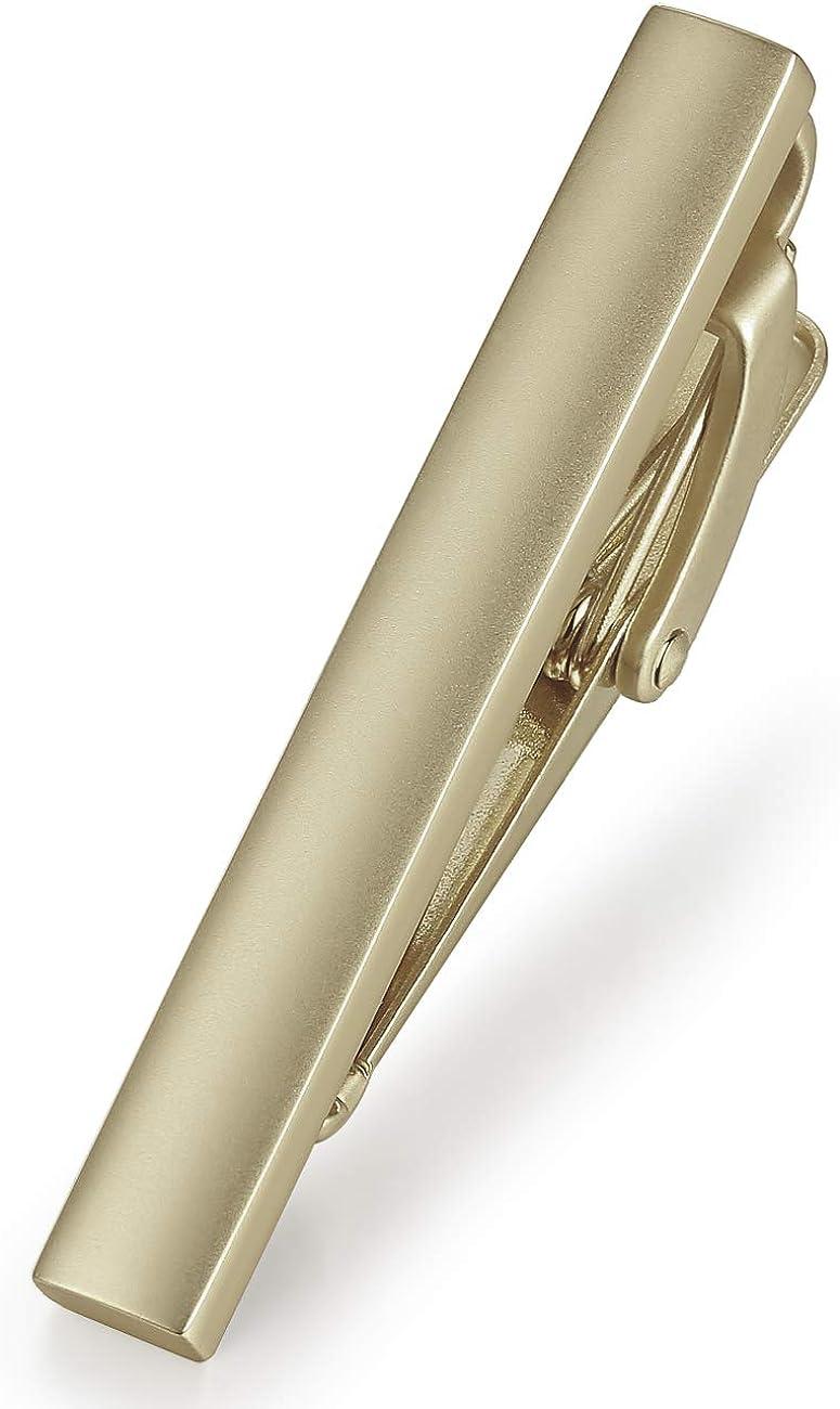 HONEY BEAR Pinces /à Cravate Homme//Gar/çons Slim Skinny,4cm,Acier Inoxydable pour Chemise Le Cadeau de Mariage Affaires