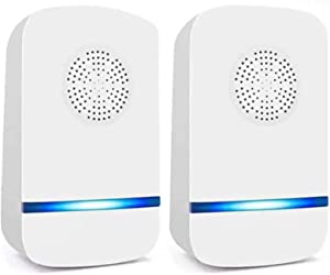 Garzmart Ultrasonic Pest Repeller Electric Plug in, 2 Pack Indoor Pest Repellent, Pest Control for Home, Hotel, Office, Warehouse, Reject Device for Insects, Mosquitos, Rats, Spiders, Cockroach