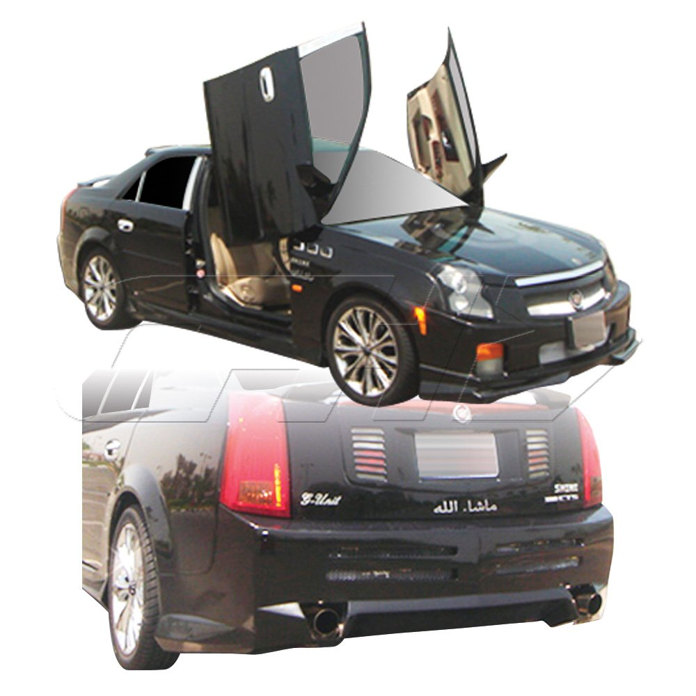 2003 2007 Cadillac Cts Duraflex Platinum Body Kit 4 Piece Xlr Wiring Harness Includes Front Bumper Cover 100425 Rear 100426