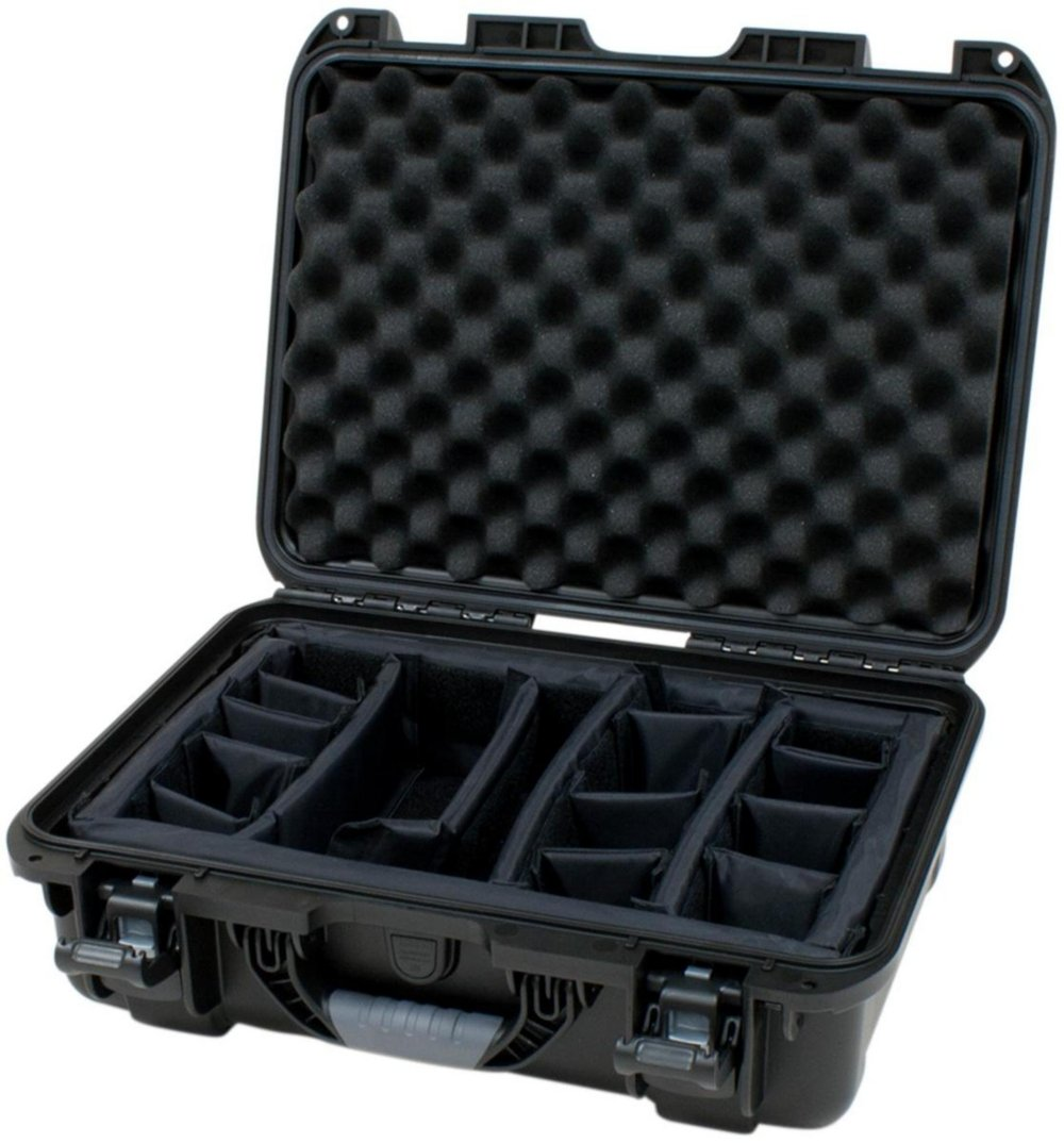 Gator Cases GU-1711-06-WPDV Titan Series Waterproof Equipment with Divider Insert 17'' x 11.8'' x 6.4''