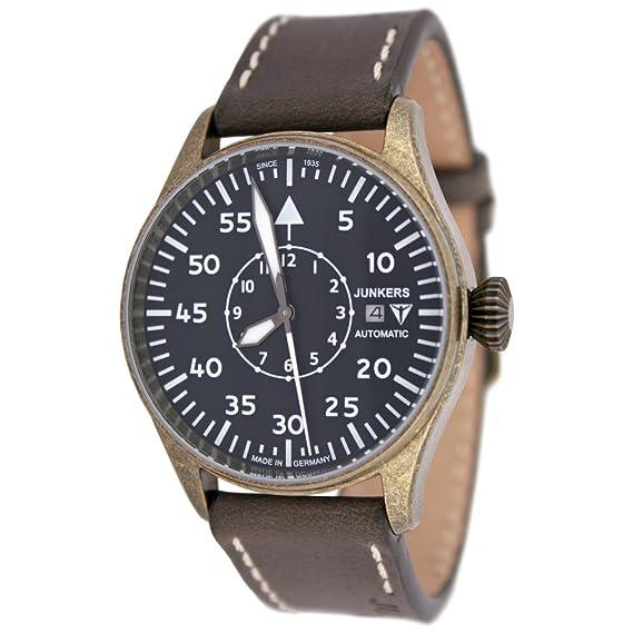 Junkers automático Limited Edition beobachtungs Reloj Vintage Pulsera de piel 3554 – 2