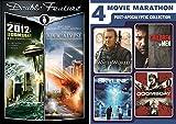 6 Post Pack Apocalyptic Collection Movie Night 2012 Doomsday / The Apocalypse + WaterWorld / Children of Men / Skyline & Doomsday Movie Marathon