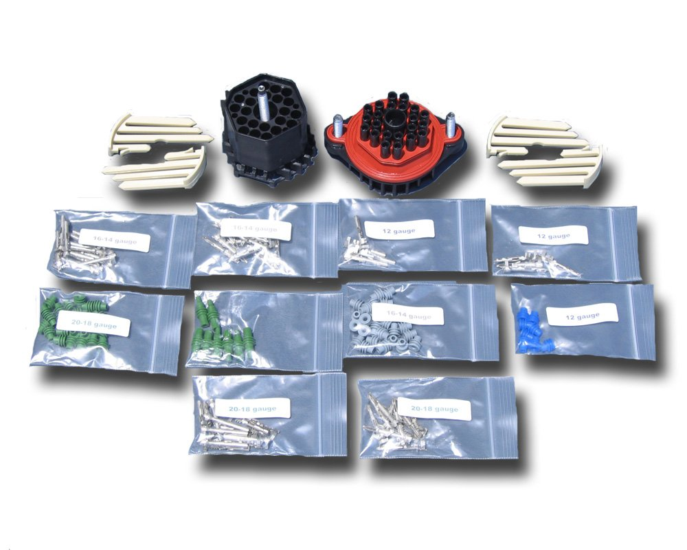 Amazon.com: 22 Position Delphi Weather Pack Connector Kit by ...