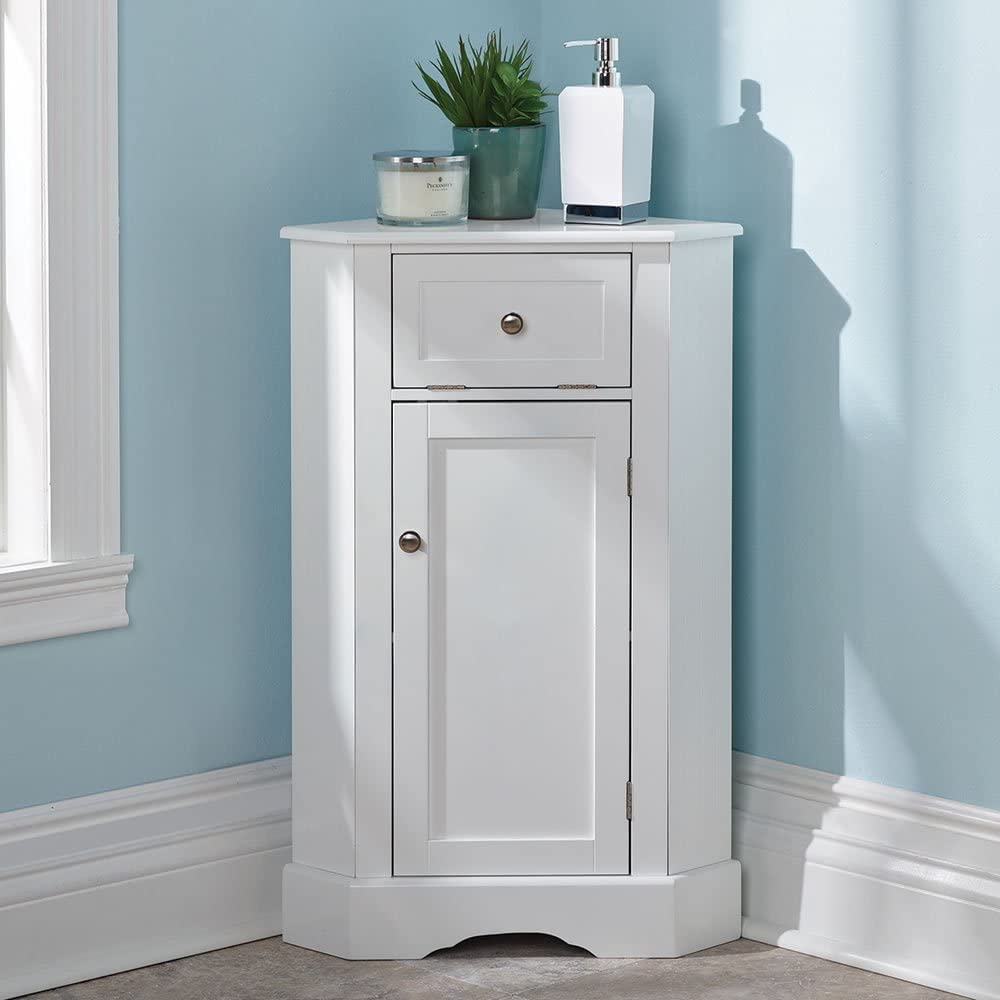 Hammacher Schlemmer The Bathroom Corner Cabinet: Amazon.ca: Home