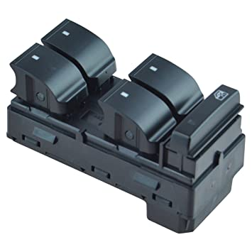 Master Power Window Switch Driver Side Left LH for 2000-07 Ford Focus 4 Door