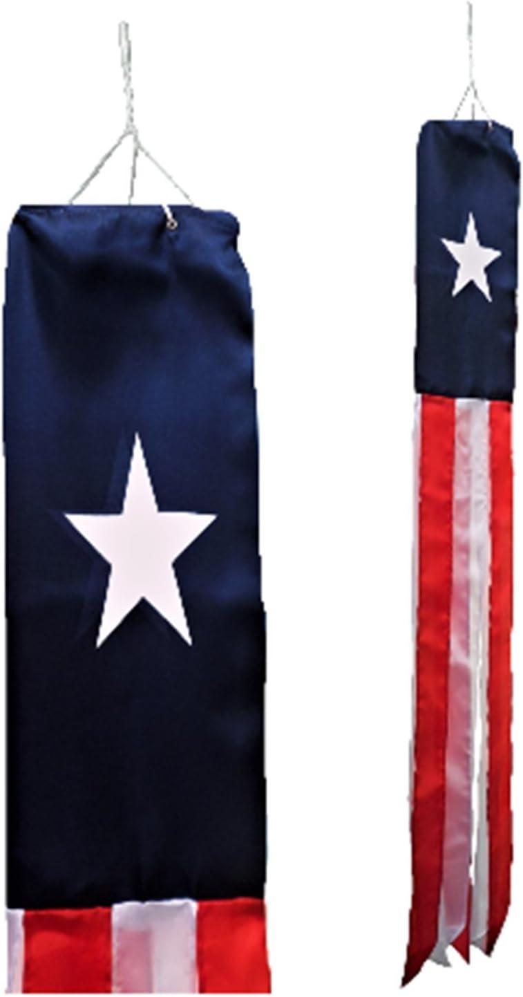 Texas Estados Unidos Estado bandera Super 5 de manga de viento: Amazon.es: Hogar