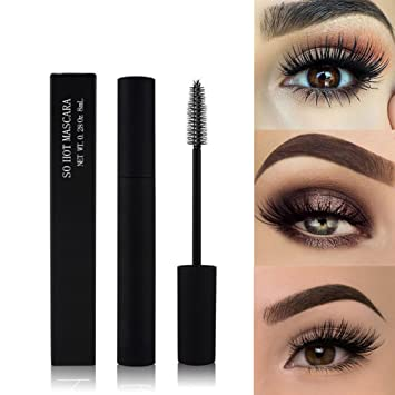 e35860a3359 Amazon.com : Cocohot Eye Makeup 3D Waterprrof Eyelashes Mascara Thick  Curling Stretching Quick Dry (A) : Beauty