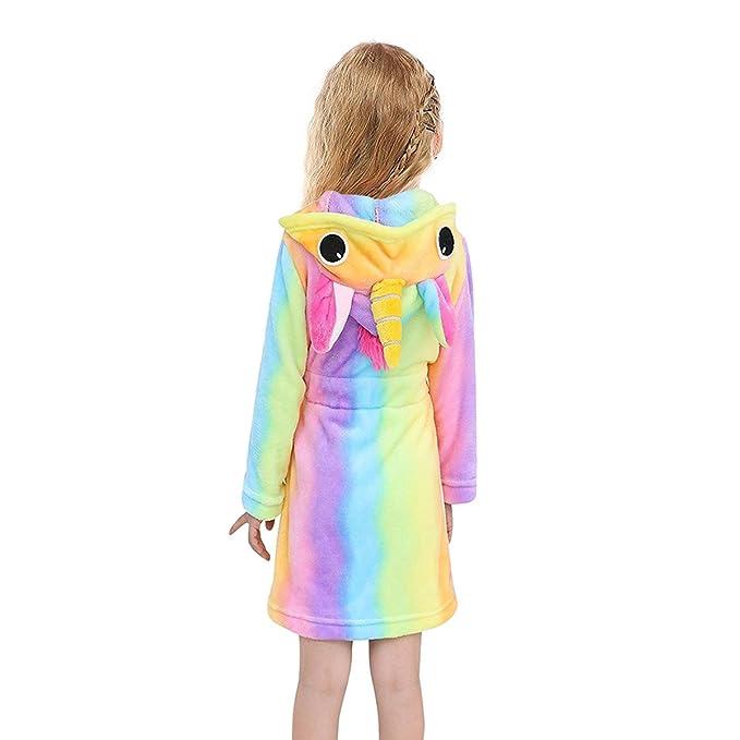 tollion bebés/niños con capucha Terry Bata Polar Albornoz Niños de pijama pijamas - Multi color - : Amazon.es: Ropa y accesorios