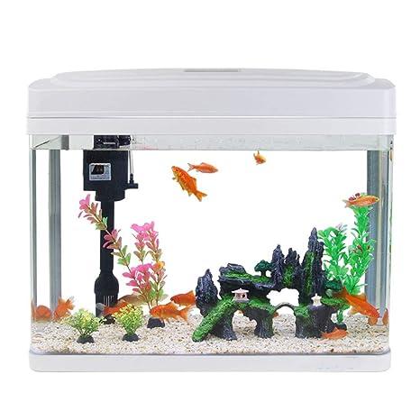 Vidrio De Cambio De Agua Gratis Acuario Sala De Estar Eco-Creativa Mini Escritorio Cuenco