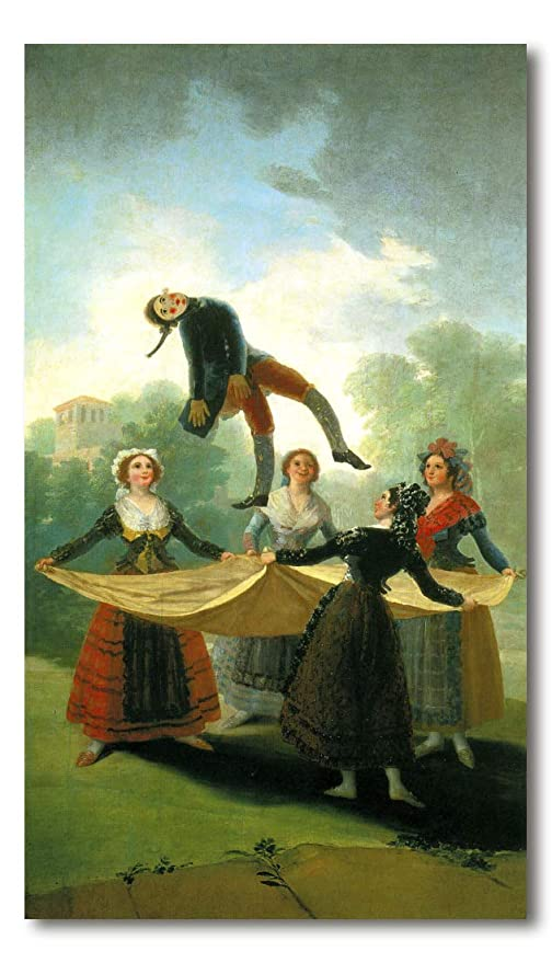 Cuadro Decoratt: El pelele - Francisco de Goya 75x131cm ...