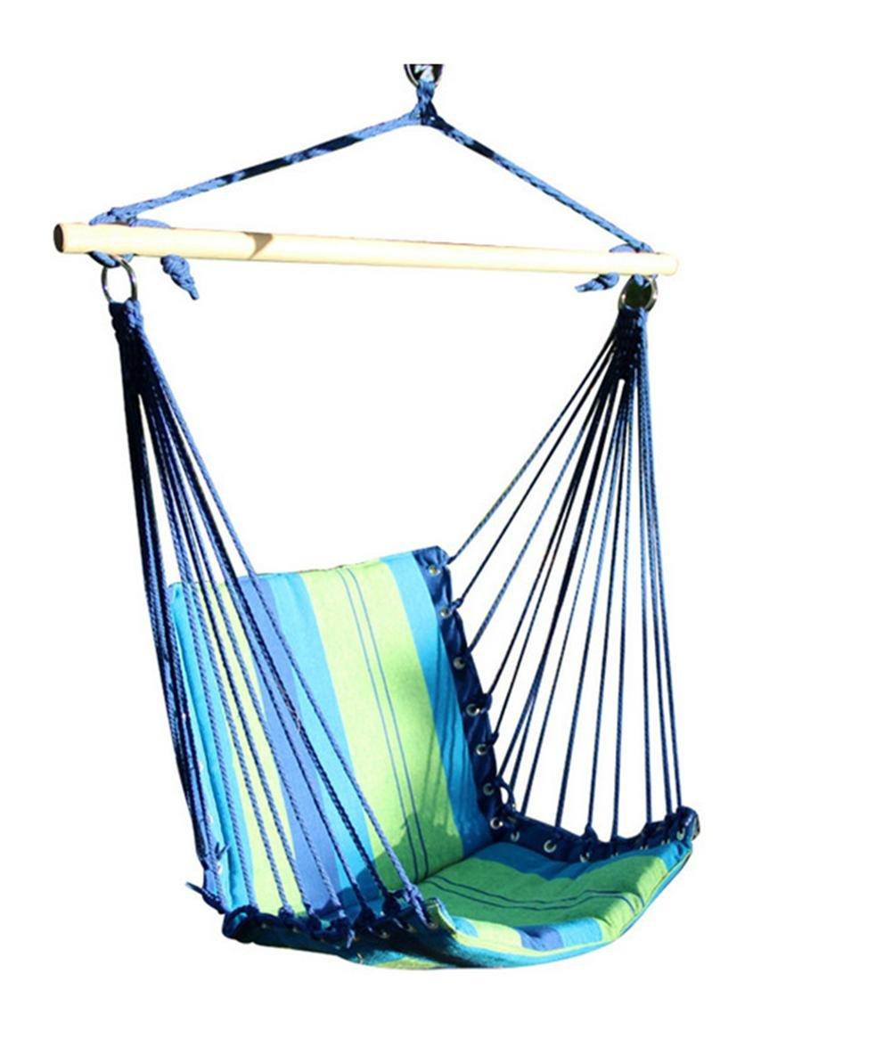 DZW Farbe Streifen Leinwand Aufhänger Hängematten Hersteller Swing Stühle Stuhl