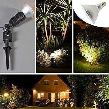 Luxvista PAR38 LED Lampe 20W E27 Dimmbar Spotlicht Wasserdicht IP65 Aluminium Gl/ühbirne RGB Farbwechsel Licht Leuchtmittel mit Fernbedienung 120Grad 1 St/ück