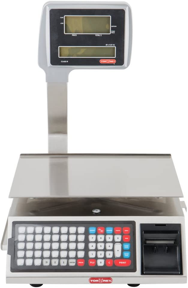 Torrey W-Label-40L WiFi Price Computing Scale with Label Printer